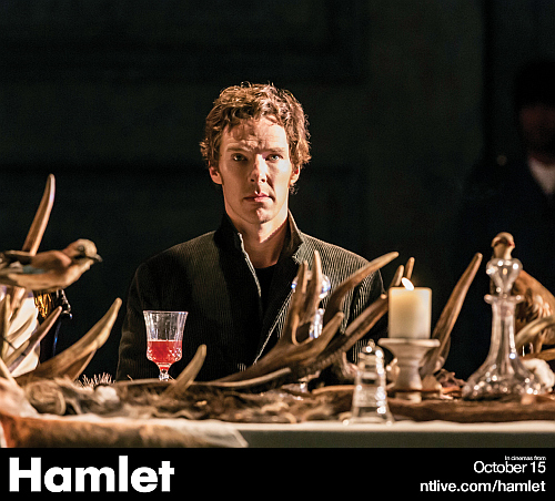 1. Hamlet (Benedict Cumberbatch). Photo by Johan Persson