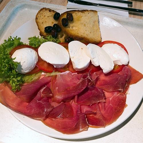 Első olasz ebédünk