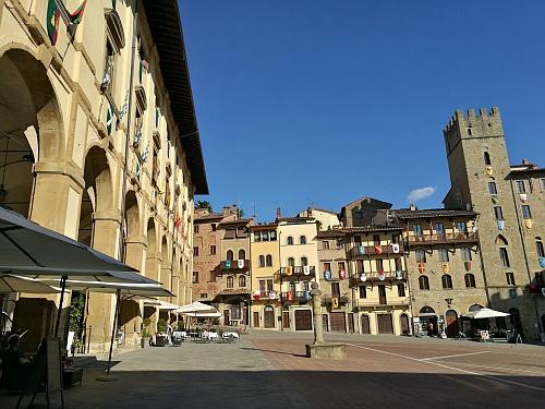 Arezzo főtere