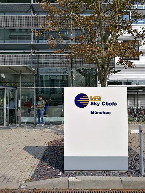 Az LSG Sky Chefs müncheni gyára