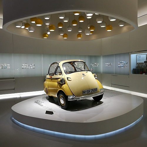 Isetta a leghelyesebb autó, amit valaha terveztek.