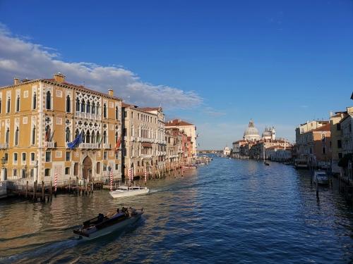 Az kilátás az Accademia hídjáról