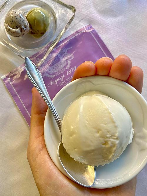 Mákfagylalt, pisztácia és görög joghurt fagylalt