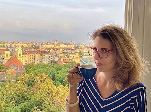 A páratlan panoráma, a tökéletes kávém és én