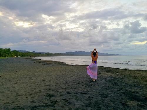 Kis esti jóga a Karib-tenger partján