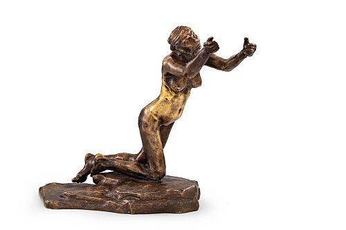 Az aukcióra kerülő szobor